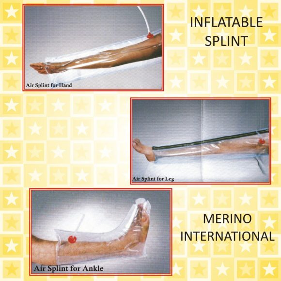 Inflatable Air Splints