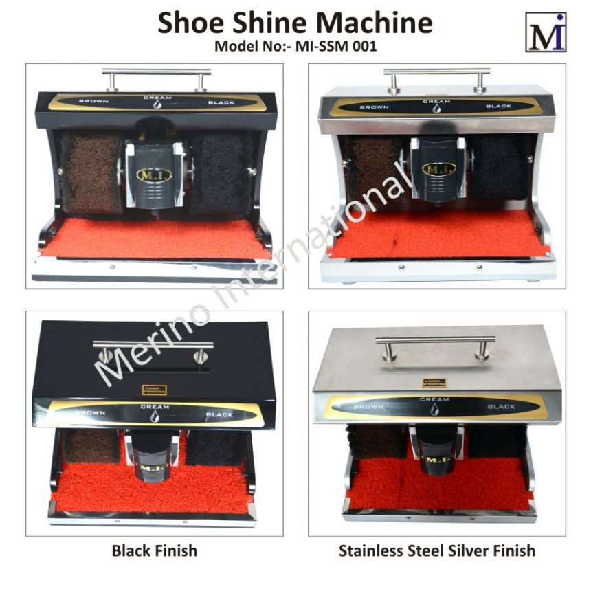 Shoe Shining Machine